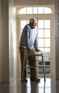 What if he has COPD and endurance is an issue. This walker adds work instead of easing it.